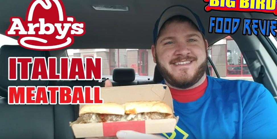 Big Bird Reviews Arby's Italian Meatball