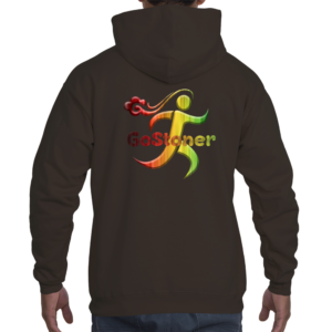 GoStoner Rasta Men's Hooded Sweatshirt