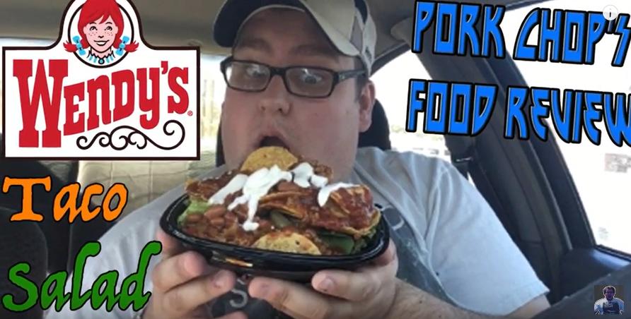 Pork Chop Reviews Wendy's Taco Salad