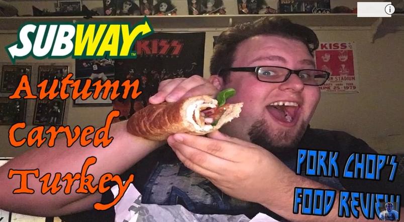 Pork Chop Reviews Subway's Autumn Carved Turkey