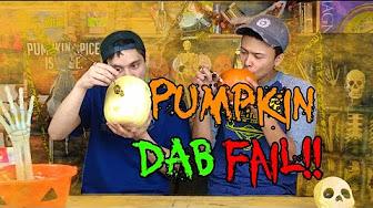 TAB Aaron & Mo Pumpkin Bongs + Pumpkin DAB Fail!!