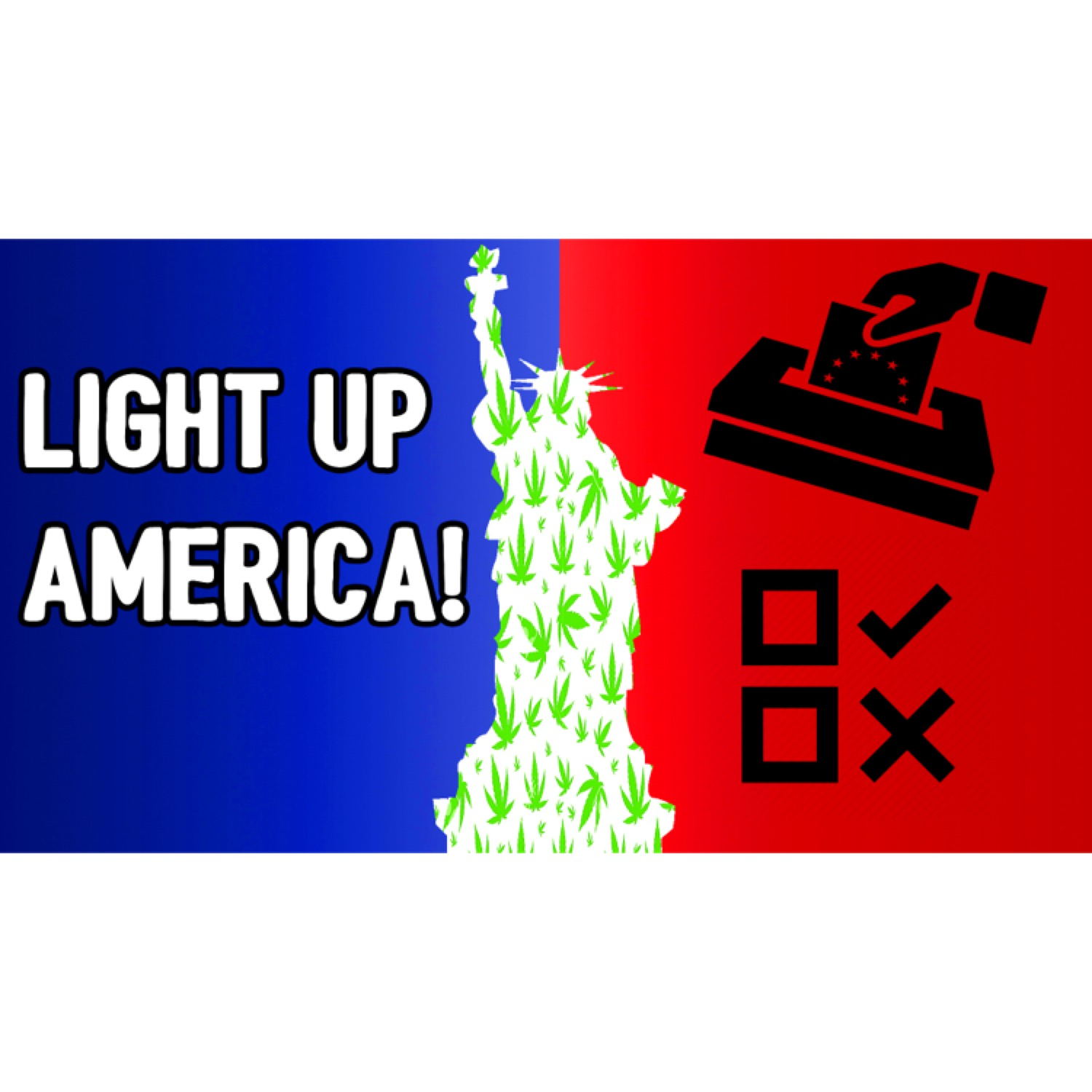 CannaVice TV Light America States Voting Weed 2016