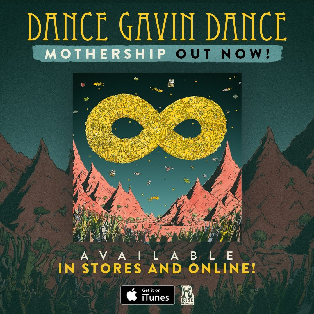 Daily Vinyl Reviews Dance Gavin Dance Mothership