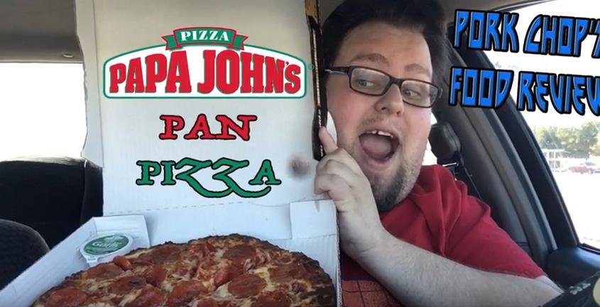 Pork Chop Reviews Papa John's Pan Pizza