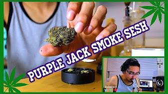 CannaVice TV Purple Jack Smoke Sesh + 2017 Goals!