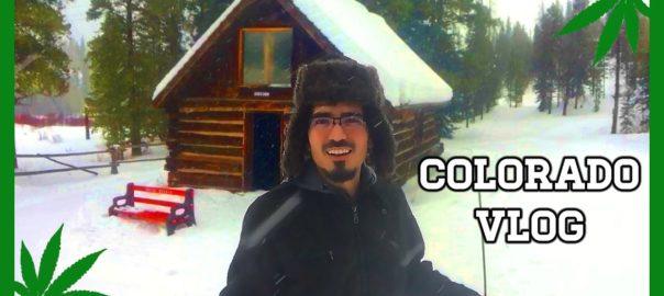CannaVice TV Almost Lost Hiking Snowstorm COLORADO VLOG