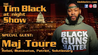 Tim Black Talks DL Hughley, CNN, Betsey Devos & Guest Maj Toure