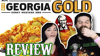 Whitfield Food Reviews KFC NEW Georgia Gold Fried Chicken