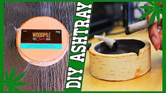 CannaVice TV Stoner Gift Idea: DIY Birch Wood Ashtray ????