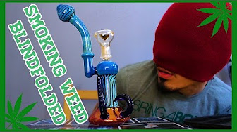 Cannavice TV Smoking Weed Blindfolded