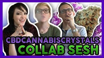 High Hipsters Sesh Azura CBD Cannabis Crystals