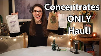 Positive Smash 420 Concentrates Haul & Dabs Beginners