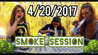 CosmicCloudz420  NATIONAL STONER DAY! OUTSIDE NATURE SMOKE SESH
