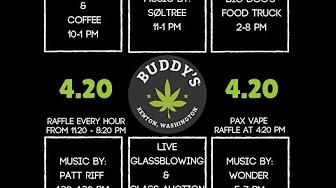 T.A.B 420 Buddy's 4/20 Live Stream Update