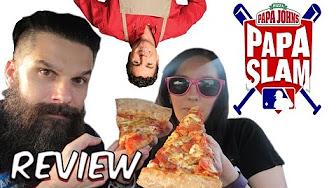 Whitfield Food Reviews Papa John's PAPA SLAM! John's Favorite Pizza