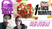 Whitfield Food Reviews Taco Bell NEW Loaded Taco Burrito