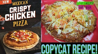 Whitfield Taco Bell Mexican Crispy Chicken Pizza RECIPE REVIEW!