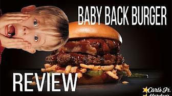 Whitfield Food Reviews Hardees / Carl's Jr Baby Back Rib Thickburger