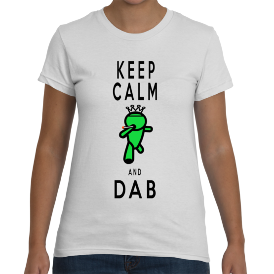 Keep Calm And Dab GoStoner Women's T