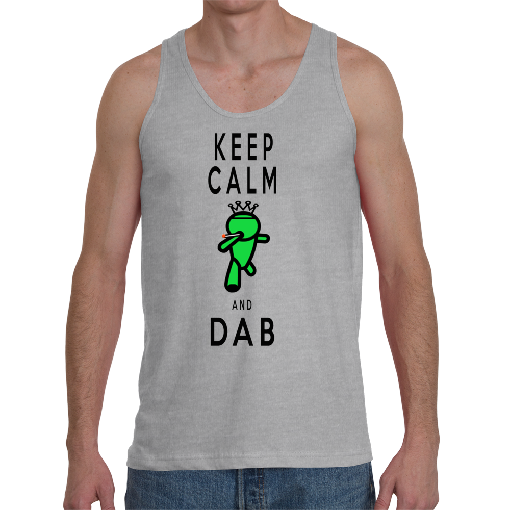 Keep Calm and Dab Men's Tank
