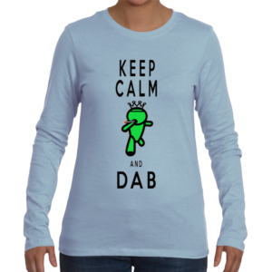 Keep Calm and Dab Women's Long Sleeve