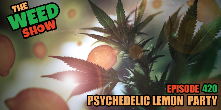 Weed Show Psychedelic Lemon Party