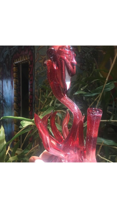 "Boss Glass (@boss_glass) - 9"" Tall Dichro Rig"