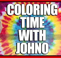 Johno Show Adult Coloring Book Experiment