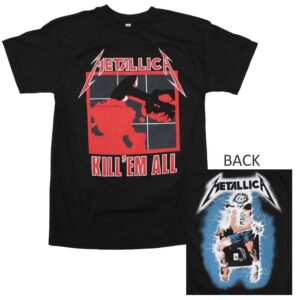Metallica Kill Em All T-Shirt