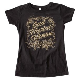 Waylon Jennings Good Hearted Woman's Tee