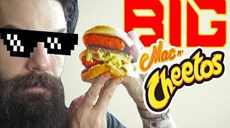 Whitfield Food Reviews Big Mac N Cheetos Burger Mash Up (McDonald's VS Burger King)