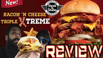Whitfield Food Reviews Steak 'N Shake Bacon 'N Cheese Triple EXTREME!