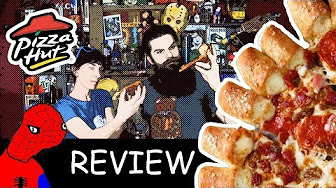 Whitfield Food Reviews Pizza Hut Spider-Man Home Coming Cheesy Bites Pizza