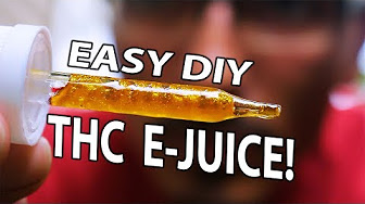 CannaViceTV How To Make DIY Weed E-Juice