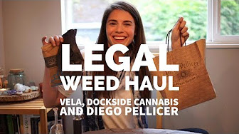 Positive Smash 420 Legal Weed Haul Vela, Dockside Cannabis and Diego Pellicer