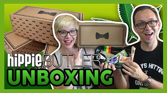 High Hipsters Hippie Butler: Monthly Subscription Unboxing