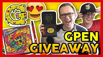 High Hipsters PIZZANISTA G-PEN GIVEAWAY!!