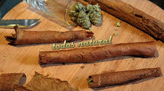 RuffHouse Stuidos Todos Natural (Blunt Rolling with a Habana Montecristo Hand-Rolled Cuban Cigar)