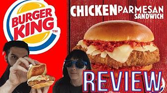 Whitfield Food Reviews Burger King Chicken Parmesan Sandwich