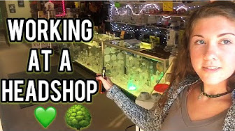 CosmicCloudz420 The Life of Working At A Headshop Weedtube Update