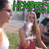 SO FUCKING HIGH!!! HEMPFEST 2017 | #SocialWeediaGroup | TheDabSpot