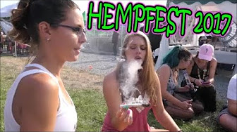 SO FUCKING HIGH!!! HEMPFEST 2017 | #SocialWeediaGroup | TheDabSpot