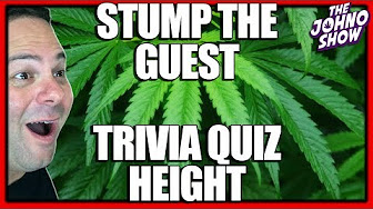 Stump the Guest: People's Height Trivia Quiz - The Johno Show