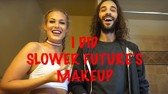 Joya G SLOWER FUTURE LET ME DO HIS MAKEUP