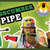 Loaded Up Smoking Weed W/A Cucumber The Crosscumber Pipe