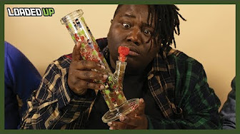 Loaded Up Smoking Weed W/Watermelon Bong