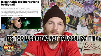 Weed News at 420 CBS, cannabis SHOULD be legal because it is lucrative