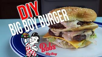 Whitfield Foods Big Boy Burger Copycat Recipe The EX Food Files EP 1