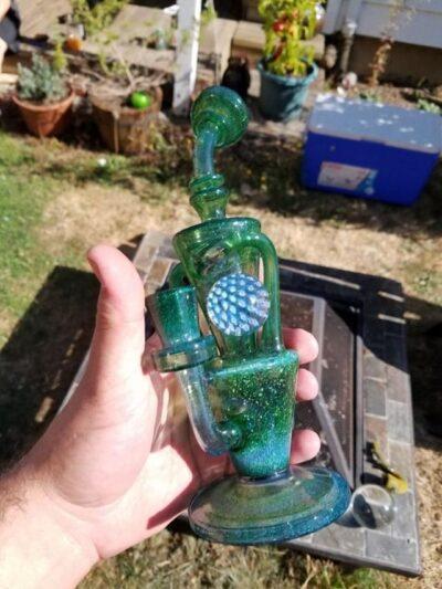 FRiT Glass - Single-Marble Klein