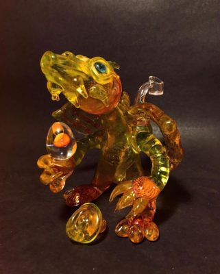 Pop D Glass Art Co. - Dragon Rig